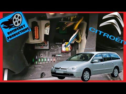 Смотреть онлайн видео Citroen C5 MK2 20089 OBD2
