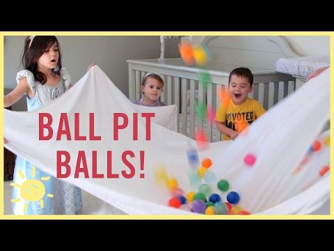 PLAY | 3 Ball Pit Ball Activities!