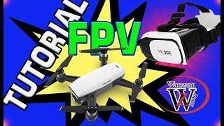 TESTE DRONE SPARK DJ em FPVI wanzam fpv