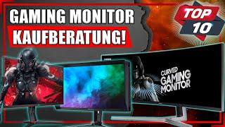 Gaming Monitor Kaufberatung [2021] | Die TOP 10 der besten Monitore