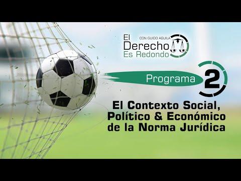 LA NORMA JURÍDICA: CONTEXTO SOCIAL, POLÍTICO £ ECONÓMICO - El Derecho es Redondo #2 - Guido Aguila
