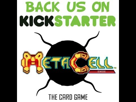 All Us Geeks Game Preview: Metacell: Genesis, The Card Game