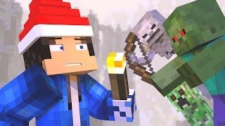 """♫""""12 Nights of Survival"""" - A Minecraft Christmas Song ♪"""