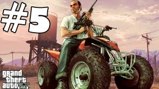 Grand Theft Auto 5 Walkthrough Part 5 Gameplay Live Stream 4 Hours 30 Minutes Lets Play  [HD]