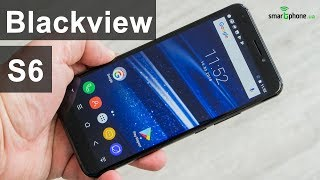 Смартфон Blackview S6 2/16 Gold от компании Cthp - видео 1