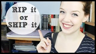RIP it or SHIP it | BookTAG