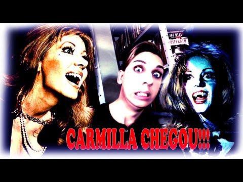 Carmilla:  A Vampira de Karstein de Sheridan Le Falu + FILMES DE VAMPIROS DA HAMMER