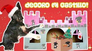 DECORO MI CASTILLO DE NAVIDAD 🎄 Lana Funny Dogs
