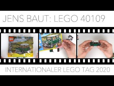 Jens baut: LEGO Mini Cooper 40109 | Grüße an den Held der Steine | 28.01. Internationaler LEGO Tag