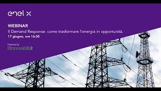 """Webinar [podcast] """"Il Demand response: come trasformare l'energia in opportunità"""""""