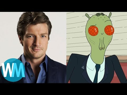 Top 10 Celebrities Who Appeared on Rick and Morty