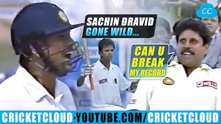 Sachin Dravid Gone Out of Control | EPIC Highest Partnership of 331 | INDvNZ 1999 !!