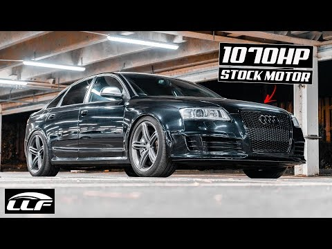 THE 1070HP AUDI RS6 4 DOOR *BUGATTI EATER*