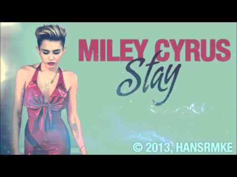 Miley Cyrus - Stay (Official Studio Acapella)