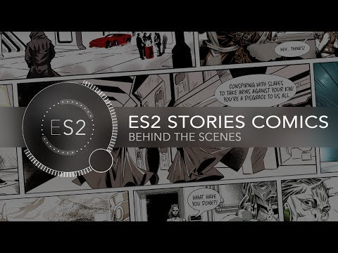 Making of the Comics - Endless Space 2 Stories