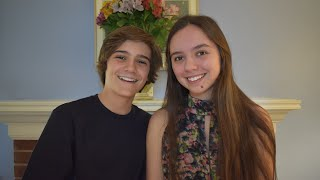 New Year's Day - Taylor Swift Cover (Lincoln and Louisa Melcher)