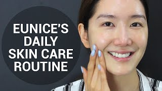 Eunice's Daily Skin Care Routine | Wishtrend