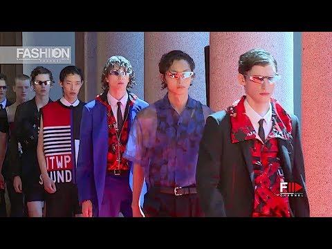 LES HOMMES Spring Summer 2020 Menswear Milan - Fashion Channel