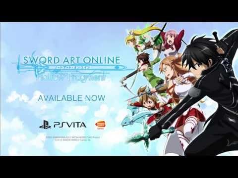 Trailer de Sword Art Online: Hollow Fragment