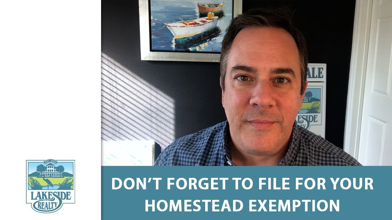 The Homestead Exemption & the Save Our Homes Amendment