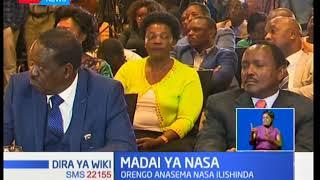 Muungano wa upinzani NASA wasema kuwa mipango ya kumuapisha Raila Odinga kama rais imo mbioni