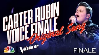 """Carter Rubin Sings His Original Song """"Up From Here"""" - The Voice Live Finale Part 1 2020"""