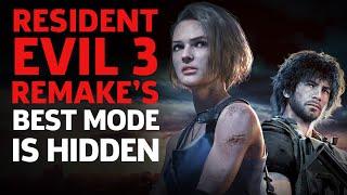 Resident Evil 3 Remake's Best Mode Is Hidden