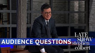 Stephen Colbert's Audience Q&A: Keys To A Successful Marriage