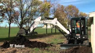 Bobcat Compact Excavator Safety