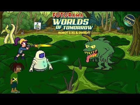 Futurama Worlds Of Tomorrow #11 BLACK ROBOT 1-XS + DWIGHT (Part 2)