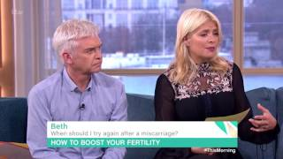 When Should I Try Again After a Miscarriage? | This Morning