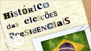 Histórico das eleições presidenciais
