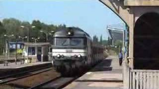 preview picture of video 'SNCF Diesel Hauled Departure from Abbeville to Paris'