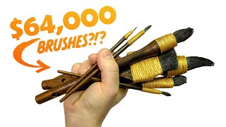 Are These Brushes Worth $64,000???...