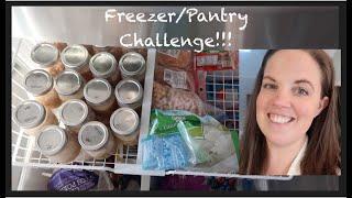 Freezer/Pantry Challenge Week 2 UPDATE!  Plus 2 Recipes!!!