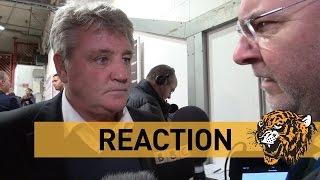 Manchester United V Hull City  Reaction With Steve Bruce