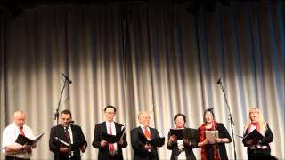 preview picture of video 'Dankeskirche-Singers beim Jahrhundertkonzert im Kulturhaus Milbertshofen'