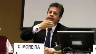 Carlos Moreira at the United Nations High Commissioner for Human Rights (in French)