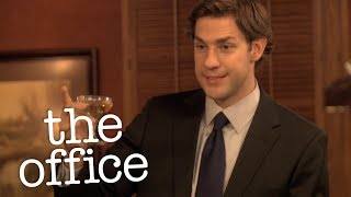 Jims Wedding Toast To Pam  - The Office US