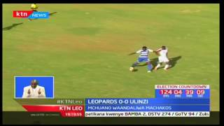 Klabu ya AFC Leopards inaongoza jedwali la ligi kuu nchini kwa alama saba