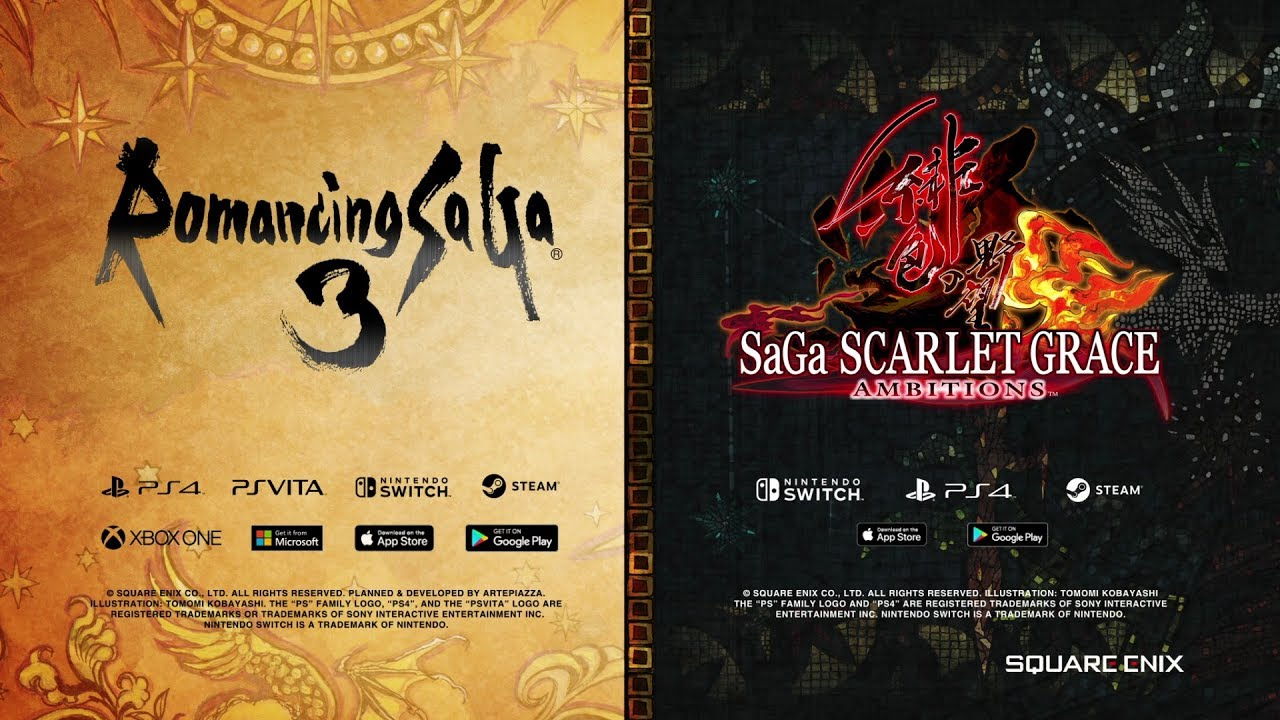 Video SAGA SCARLET GRACE: AMBITIONS™