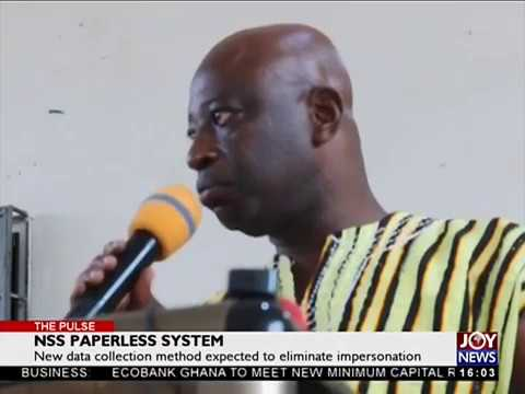 NSS Paperless System - The Pulse on JoyNews (15-5-18)
