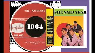 The Animals - She Said Yeah 'Vinyl'