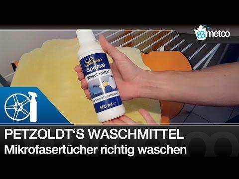 Petzoldts Spezial Waschmittel - Mikrofasertücher in der Waschmaschine richtig waschen - 83metoo