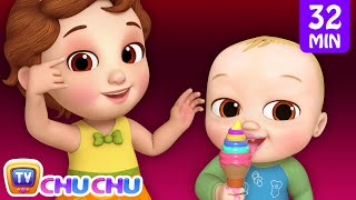Five Senses Song + More 3D Nursery Rhymes & Kids Songs - ChuChu TV