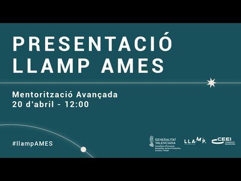 Presentación de LLAMP AMES para Agentes del Ecosistema de Emprendimiento CV[;;;][;;;]