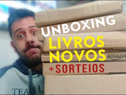 UNBOXING LIVROS + SORTEIOS SAGA LITERÁRIA #2