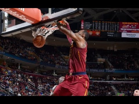 Best Plays From Tuesday Night's NBA Action!   LeBron James Behind The Back Pass and More!