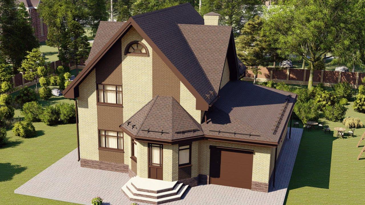 Пример проекта дома на загородном участке