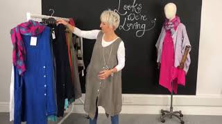 Kit And Kaboodal Styling Video (St Just Linen Tunic)